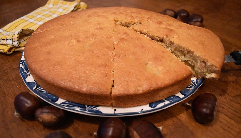 sirop érable gâteau chataigne